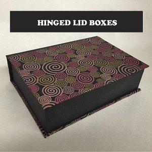 hinged box lid