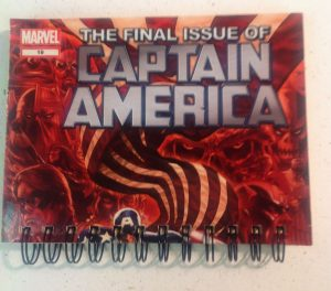 Captain America 1 Front