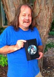 Here's Tom holding his special edition