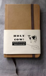 Holy Cow! Classic Blank Notebook  HC 10001 MSRP $19.95