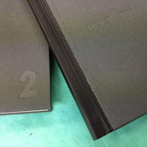 Blind Embossed each volume