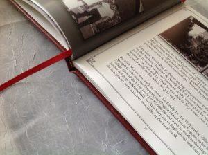 Digitally Printed Short run, Smyth sewn fine edition with ribbon marker